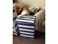 Laundry basket, storage cabinet,mirror cabinet