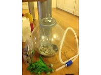 BiOrb 60litre fish tank and accesories
