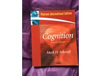 Cognition (4th edition) Mark H. Ashcraft Pearson International Edition