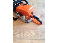 Stihl ms390 powerfull pro logging chainsaw