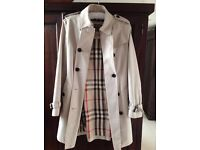 Burberry trench coat stone colour 100% authentic genuine