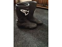 Alpine stars ladies motorcycle Boots size 40
