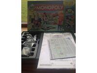 My monopoly unused game