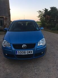 2008 Volkswagen Polo 1.2 petrol. Very low miles! 37k