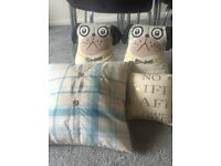 Selection of cushions, excellent condition. From Next and boutique bought.