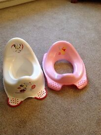 Childs Potty & Toilet Seat