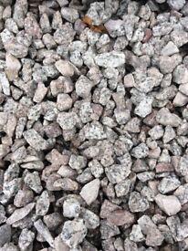 20 mm Dalbeattie granite garden and driveway chips/stones/ gravel