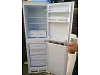 Indesit integrated fridge freezer 50/50 split, immaculate condition, 2 years old