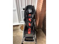Double special needs buggy very good condition cost over £2400