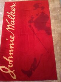 Johnnie Walker towel