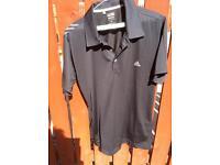 Adidas Formation Black polo shirt