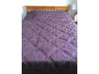 Christy King side bed spread