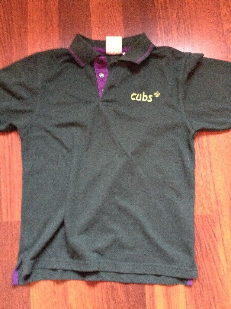 3356200b Source · Cubs polo shirt size 30 from scout shop in Gosport Hampshire