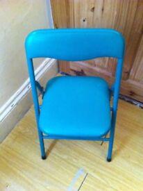 Child's folding chair