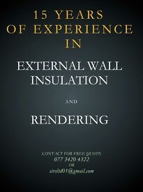 RENDERING / PLASTERING SERVICES