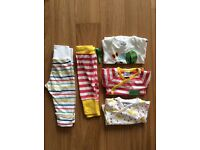 PoP bundle, baby girl, bodysuits and trousers, 2-4 m.