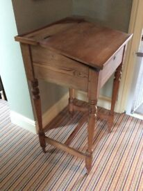Pine teachers lectern. Good condition