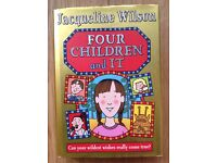 Four Children and It by Jacqueline Wilson (Hardback) r.r.p. £12.99
