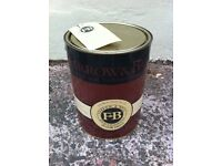 Farrow & Ball eco-friendly Floor Paint, grey, 5 litre tin