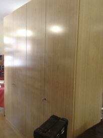 Very large wardrobe NEW with locks