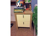 Bedside drawers x 2 and small wardrope