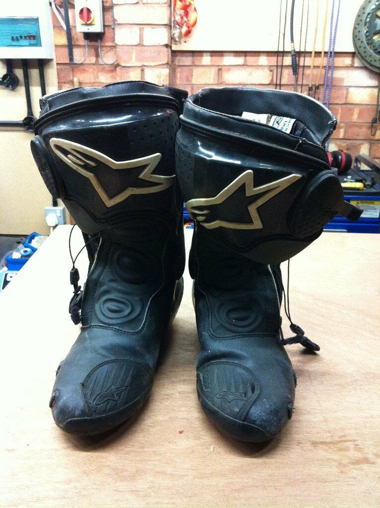 motorcycle boots alpinestar smx series