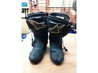 motorcycle boots alpinestar smx series