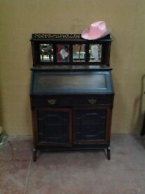 Mirrored Back Antique Chiffonier