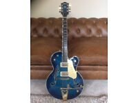 Gretsch 6120 Chet Atkins in Blue Burst, with paperwork and OHSC - beautiful!