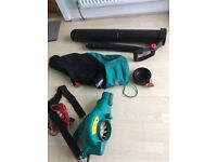 Bosch leaf blower vacuum. In vgc. Instruction booklet and box.