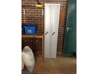 Metal Storage Cabinet/Locker - two door with shelf