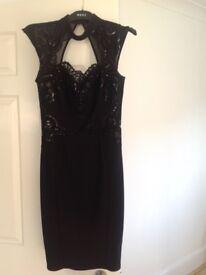 Lipsy Black Dress size 10