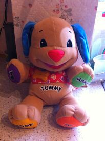 Tomy eggs, Winnie - the - pooh electronic book, fisher price dog all good condition, smoke free home