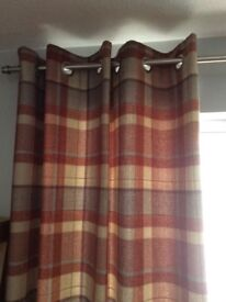 Next lined eyelet curtains