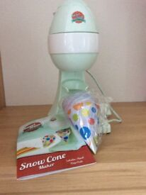 Sweet treats Snow Cone Maker - unwanted gift, not used £15