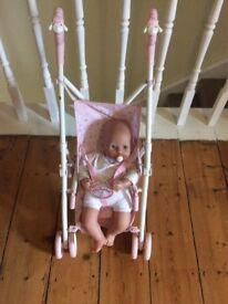Baby Annabel dolls,clothing,buggy