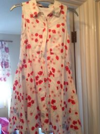 George by Asda girl's poppy print dress