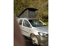 VW Caddy Maxi Camper C20 Bluemotion 120ps 2015 (New Shape)