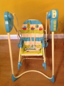 Fisher price swing n rocker chair