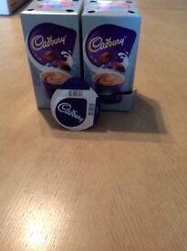 Tassimo Cadbury Drinking Chocolate Pods x2 boxes