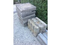 Assorted paving and coving stones