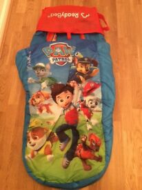 PAW PATROL READY BED OR AIR BED INFLATIBLE - CARRY BAG