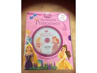 Disney Princess My Favourite Princesses box set 5 read along stories and audio CD RRP £24.99