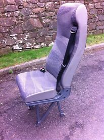 Rear van seats with seat belts ideal for crew cabs, campers, buses