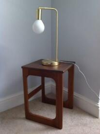 Retro Vintage Teak Mid century side tables 1960s 1970s
