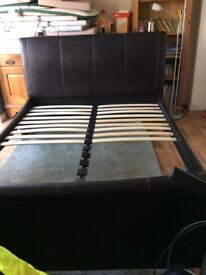 Beautiful Faux Leather Bed Frame