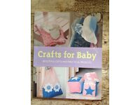 Baby crafts book 50p HAROLD HILL