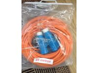 25mtr caravan supply cable for sale