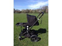Bugaboo Cameleon buggy pushchair & John Lewis Footmuff