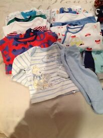 BABY BOY CLOTHES BUNDLE - Size 0/3 Months